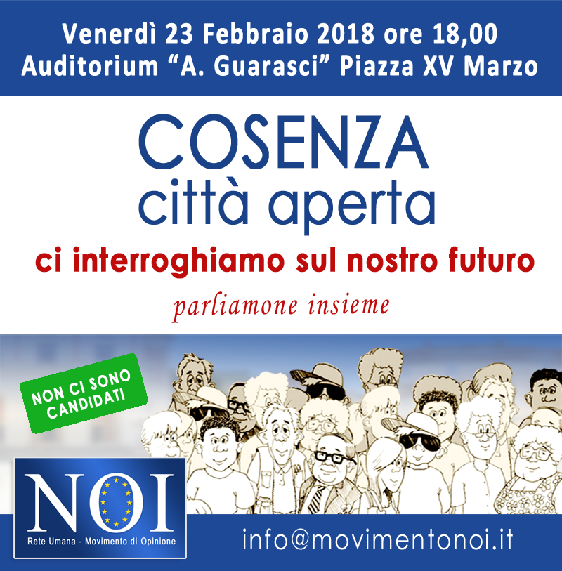 L'Evento del Movimento cattolico NOI