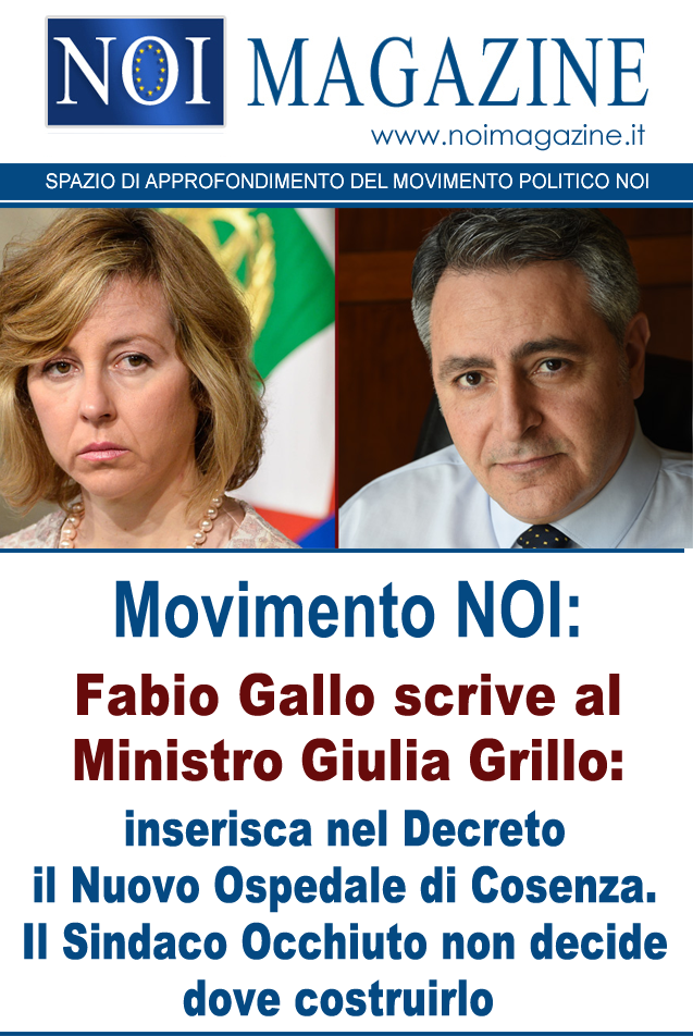 Fabio gallo - Giulia Grillo - Movimento NOI
