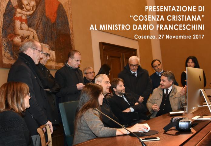 Cosenza Cristiana - presentazione al Ministro Dario Franceschini