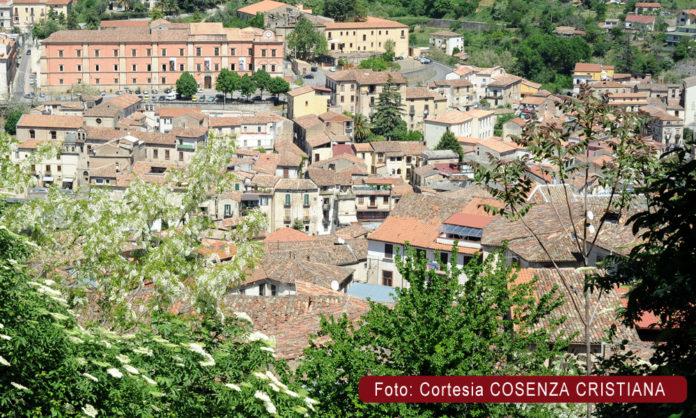 Scorcio della Città Storica di Cosenza
