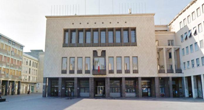 Il Palazzo del Comune di Cosenza